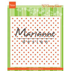 DF3447 Folder do embossingu Marianne Design - kropki