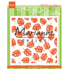 DF3449 Folder do embossingu Marianne Design - tropikalne liście
