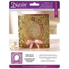 DS-CAD-CLFRA Wykrojnik Die'sire Create-A-Card- Classic Floral Frame