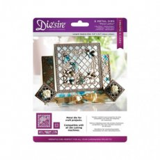 DS-CAD-LAT Wykrojnik Die'sire Create-A-Card-  Floral Lattice