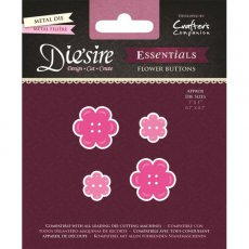 DS-E-FLB Wykrojnik Die'sire Essentials-Flower Buttons - guziki