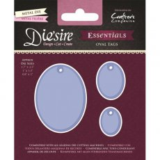 DS-E-OT Wykrojnik Die\'sire Essentials-Oval Tags - Owalne tagi