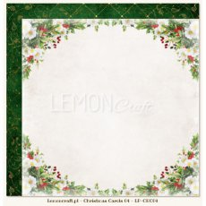 LP-CHC04 Christmas Carols 04-Dwustronny papier do scrapbookingu Lemoncraft