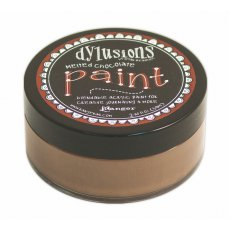 DYP46011 Farba akrylowa Dylusions Paint - Melted Chocolate