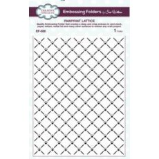 EF-036 Folder do embossingu 19,6 x 15 cm- Pawprint Lattice