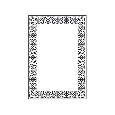 EF239 Folder do embossingu Kaisercraft-Decorative Frame