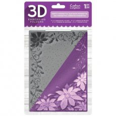 EF5-3D-X-POIN Folder do embossingu 3D -Pretty Poinsettia-poinsencja