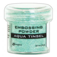 EPJ60413 Puder do embossingu Aqua Tinsel Ranger