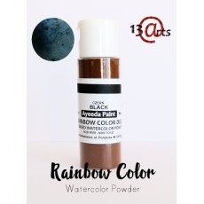 2042 Farba akwarelowa w proszku RAINBOW COLOR Black duo