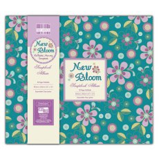 FEALB002 Album do scrapbookingu 30,5x30,5 cm- New Bloom