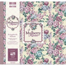 FEALB023 Album do scrapbookingu 30,5x30,5 cm-Mulberry Kisses