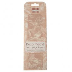 FEDEC001 First Edition Deco Maché - Pink Roses-papier do decoupage\'u