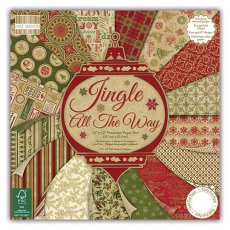 FEPAD095X15 Zestaw papierów 30,5x30,5cm-First Edition-Jingle All the Way