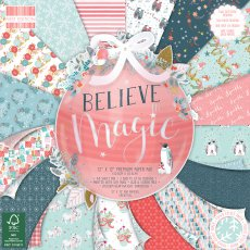 FEPAD215X19 Zestaw papierów 30,5x30,5cm-First Edition-Believe in Magic