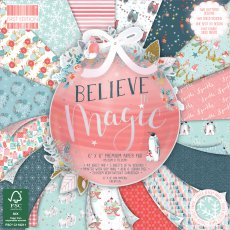 FEPAD217X19 Zestaw papierów 15x15 cm - First Edition-Believe in Magic