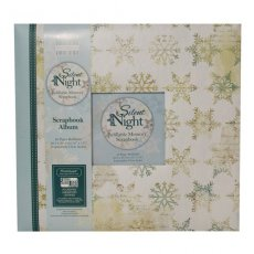FEXALB02 Album do scrapbookingu 30,5x30,5 cm- Silent Night