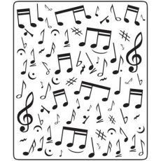 Folder do embossingu Musical Notes