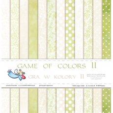 GP-GwKIIBL  Gra w kolory II -bloczek 30,5x30,5 - Galeria Papieru