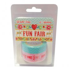 HCWT003 Washi Tape - Fun Fair by Helz Cuppleditch