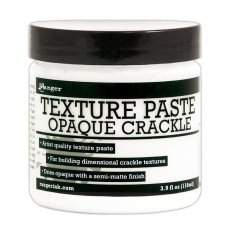 INK57505 Texture paste Opaque Crackle - Ranger 116ml