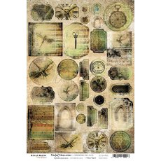 CC-CB-MM05 FADED MEMORIES - CARDBOARD DIE CUTS
