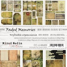 CC-JJ-MM05 FADED MEMORIES - JUNK JOURNAL SET - ZESTAW DODATKÓW