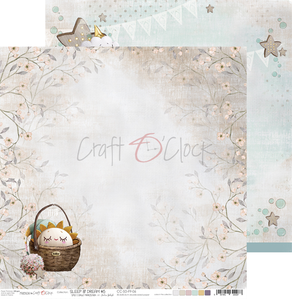 CC-SD-F9-06 SLEEP & DREAM- 06- DWUSTRONNY PAPIER