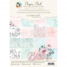 LEM-BLUSH08 BASIC BLUSH - BLOCZEK PAPIERÓW DO SCRAPBOOKINGU 21X29CM - LEMONCRAFT