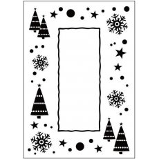 CTFD3036 Folder do embossingu Let it Snow Frame