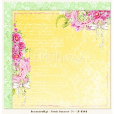 LP-FS04 Dwustronny papier do scrapbookingu - Fresh Summer 04