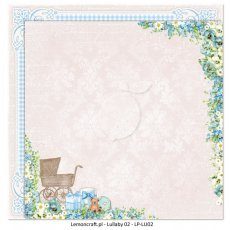 LP-LU02 Dwustronny papier do scrapbookingu - Lullaby 02 30x30cm