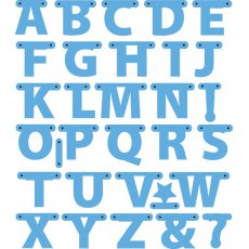 LR0340 Marianne Design Creatable - Alphabet Garland