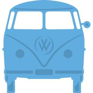 LR0359 Wykrojnik Marianne Design Creatable - VW Bus