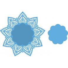 LR0397 Marianne Design Creatables-  serwetka Doily Star