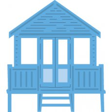 LR0422 Wykrojnik Marianne Design -Tiny\'s Beach House