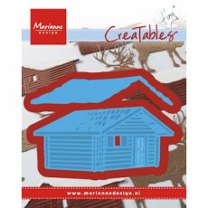 LR0441 Wykrojnik Marianne Design - Tiny\'s Log Cabin