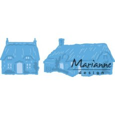 LR0453 Wykrojnik Marianne Design -  Tiny's Cottages domki