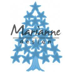 LR0490 Wykrojnik Marianne Design -Tiny's choinka-gwiazdki