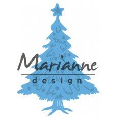 LR0491 Wykrojnik Marianne Design -Tiny's choinka-dekoracje