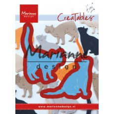 LR0591 Wykrojniki Creatable- Tiny\'s Cats-koty