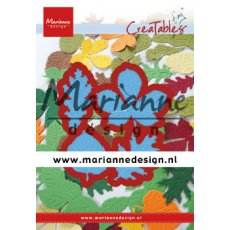 LR0621 Wykrojnik - Marianne Design - Tiny's Leaves