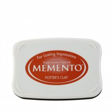 ME-801 Tusz wodny  Memento- ink pad- potters clay