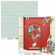 MT-HFC-02 HOME FOR CHRISTMAS 02- MINTAY PAPERS- papier dwustronny  30,5x30,5cm5