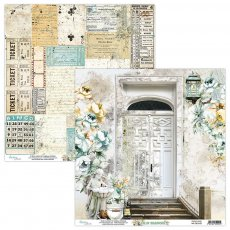MT-OLD-02 OLD MANOR 02- MINTAY PAPERS - papier dwustronny  30,5x30,5cm5