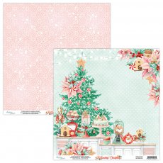 MT-SWE-01 THE SWEETEST CHRISTMAS 01- MINTAY - papier dwustronny  30,5x30,5cm5