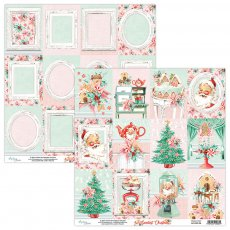 MT-SWE-06 THE SWEETEST CHRISTMAS 06- MINTAY - papier dwustronny  30,5x30,5cm5