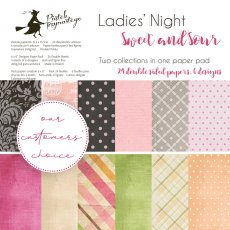 p13-339 Bloczek papierów Ladies\' Night + Sweet and Sour, 6x6""