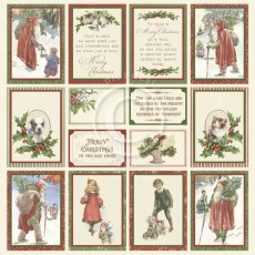 PD1650 Papier jednostronny 30,5x30,5cm -A Christmas to remember I I-obrazki II
