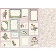 PD22011 Papier dwustronny 30,5x30,5cm -Winter Wonderland-Mitten weather