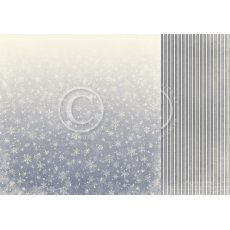 PD30012 Papier dwustronny 30,5x30,5cm  - A Christmas to Remember-Ice crystals